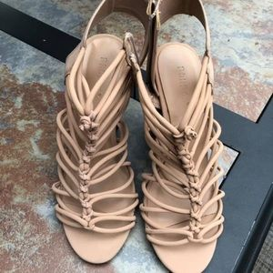 Heeled Lacey Sandals
